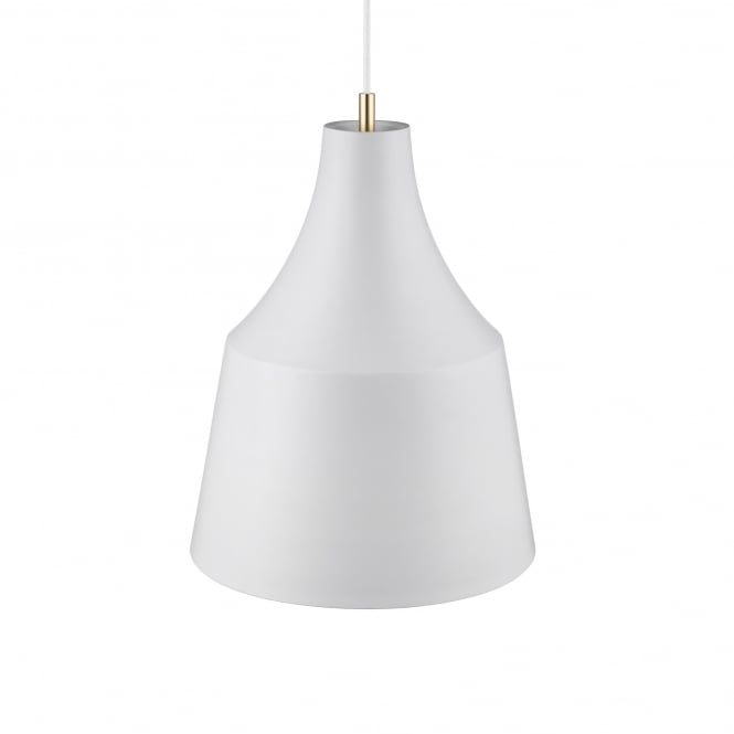 GRACE 32 contemporary pendant in pale grey finish