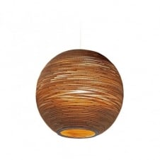 SUN large recycled scraplight ceiling pendant light