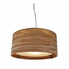DRUM recycled scraplight ceiling pendant light