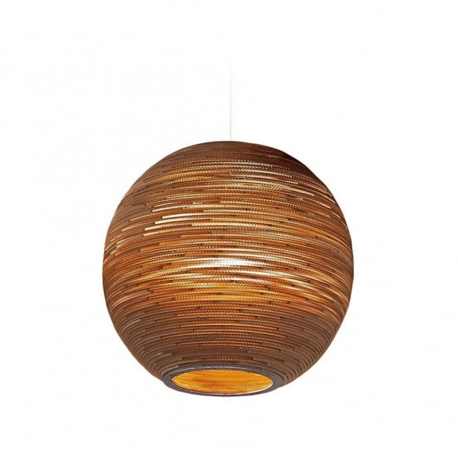 Greypants SUN large recycled scraplight ceiling pendant light