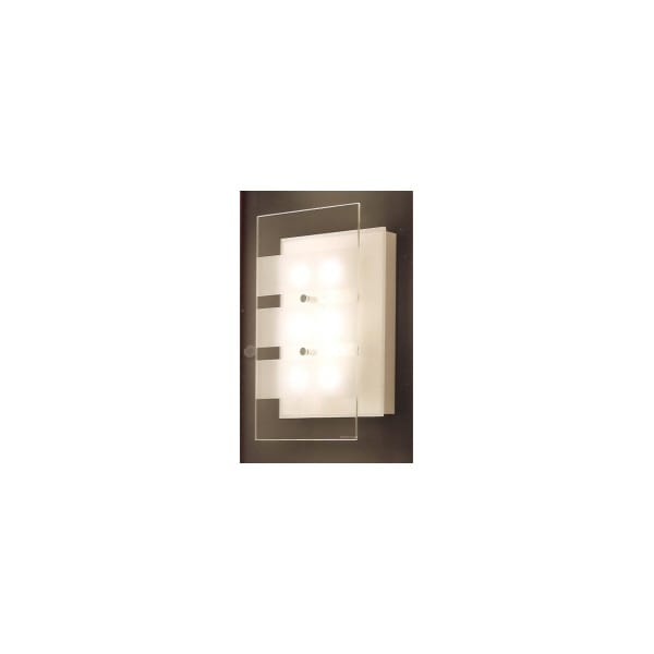 Wall Light Glass Panel : Buy Grossmann Lighting Low Energy Wall Light.