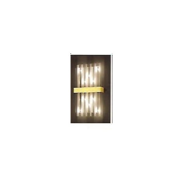 Modern Gold Wall Lights : Grossmann Gold Wall Light.
