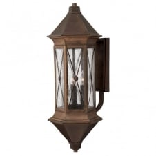 BRIGHTON traditional regal design outdoor wall lantern (extra large)