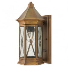 BRIGHTON traditional regal design outdoor wall lantern (small)