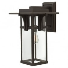 MANHATTAN modern classic train station outdoor wall lantern (large)