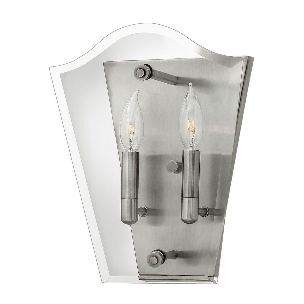 Modern Design Glass Panel Wall Lantern for Contemporary Settings