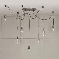 Extra large ceiling lights oversized lighting multiple hanging light bulbs on a light fitting uk aloadofball Images