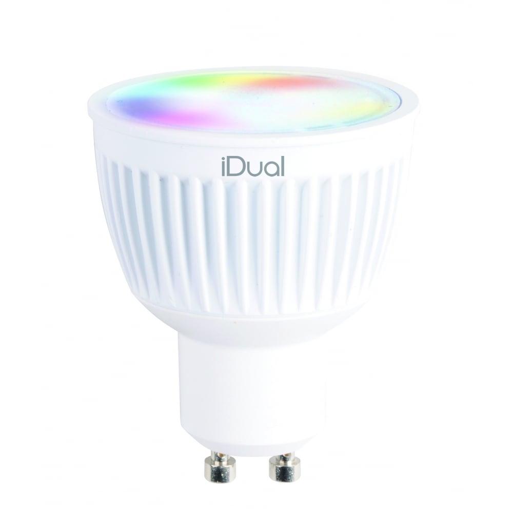 remote controllable led smart bulb gu10. Black Bedroom Furniture Sets. Home Design Ideas