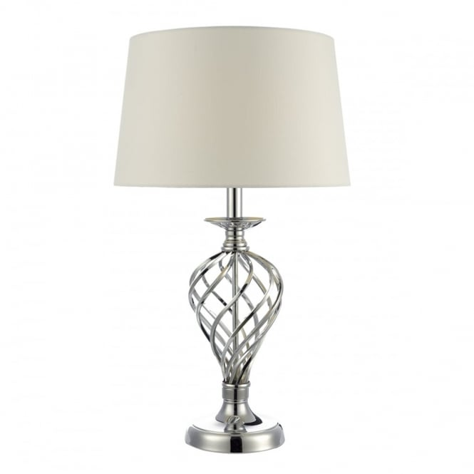 IFFLEY twirl cage touch lamp in