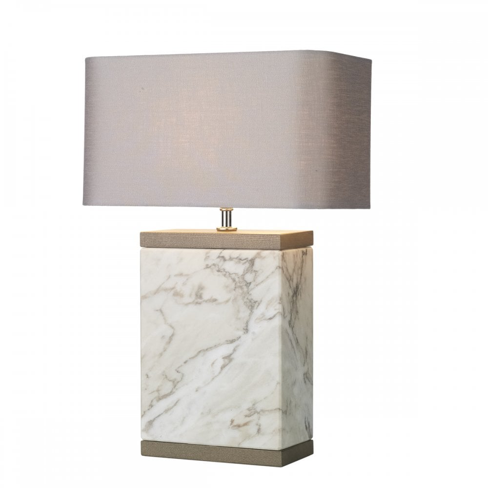 Table Lamp Large Marble Base Lighting Company