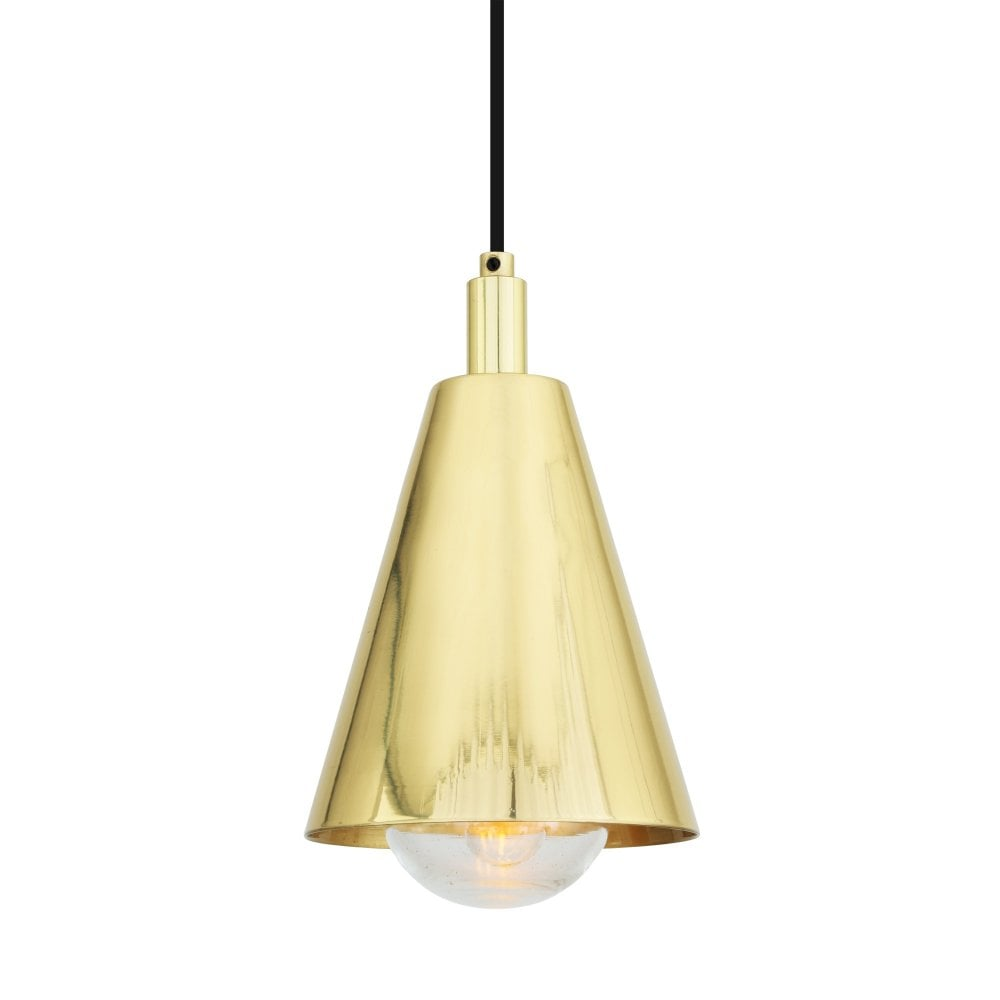 Modern Polished Brass Bathroom Pendant Light | Lighting Company