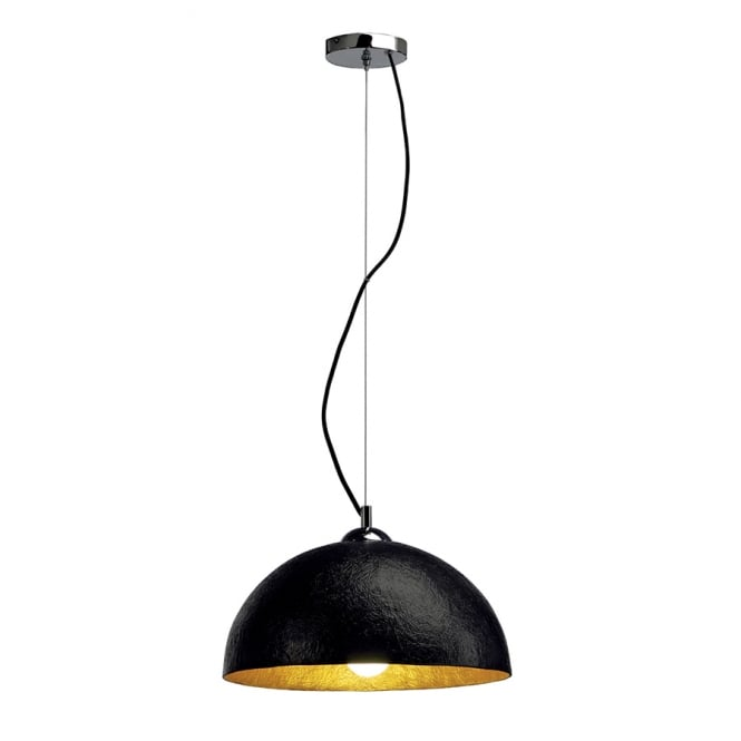 Intalite Big White FORCHINI black ceiling pendant light