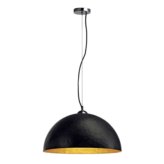 Big White Ceiling Lights : Large black ceiling pendant for high sloping ceilings