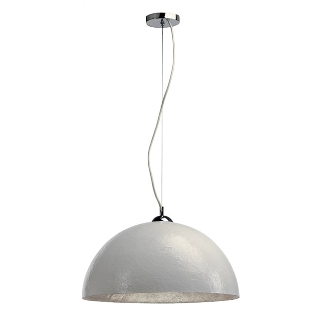 Intalite Big White FORCHINI large white ceiling pendant light