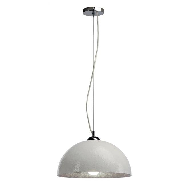 small white ceiling pendant light for high sloping ceilings
