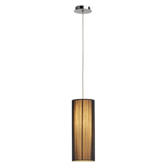 Intalite Big White LASSON small black pendant light for high ceilings