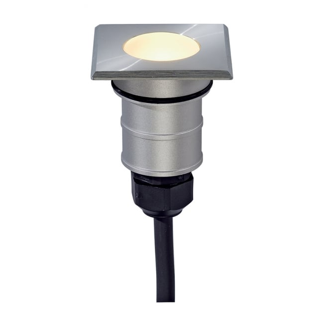 Intalite Big White POWER TRAIL-LITE recessed LED light (square)
