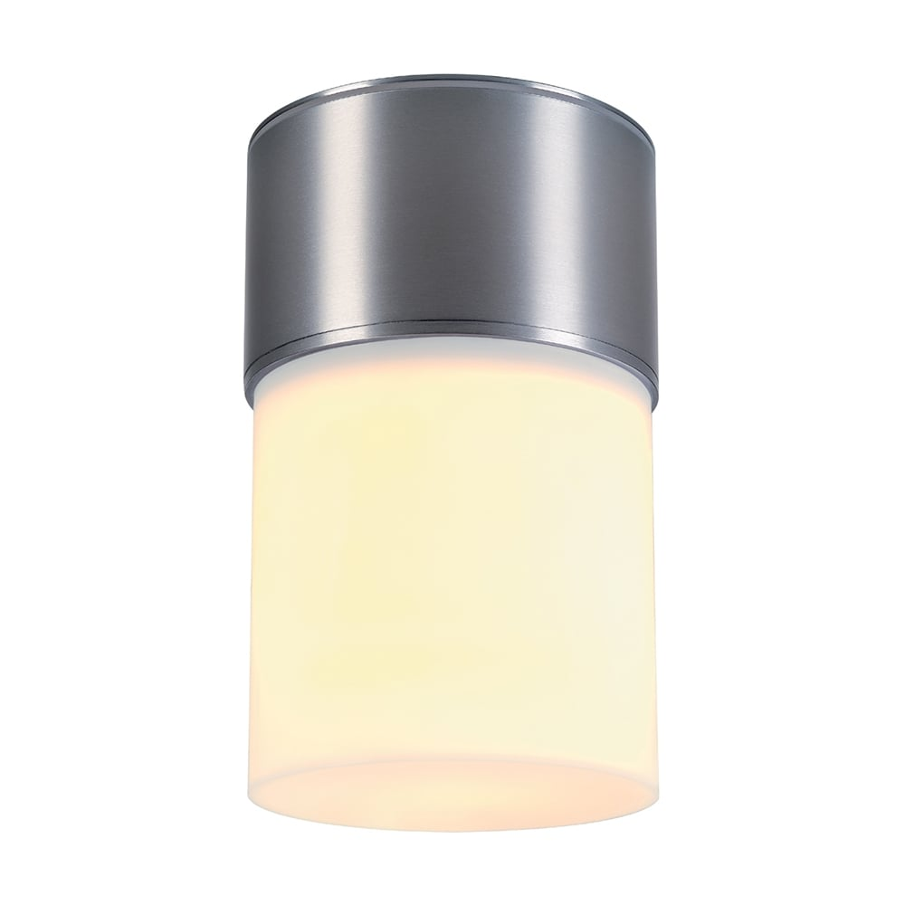 Intalite Big White ROX Low Energy Flush Outdoor Porch Ceiling LightFlush Outdoor  Ceiling Light For Porch Or Under Overhanging Eaves