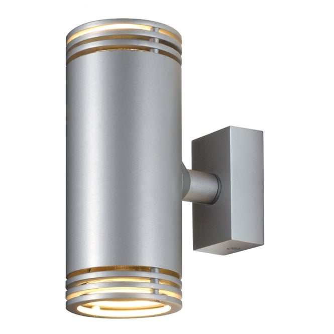 Wall Light Double Spotlight : Double Tube Shaped Wall Spotlight in Aluminium