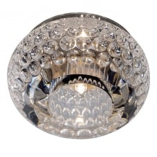 CRYSTAL 8 a recessed crystal ceiling downlight