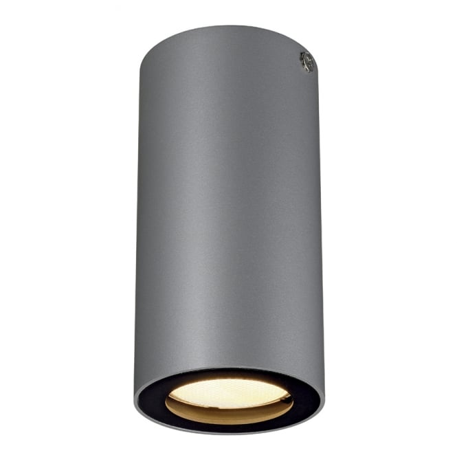 Intalite Big White ENOLA dark grey suface mounted ceiling spotlight
