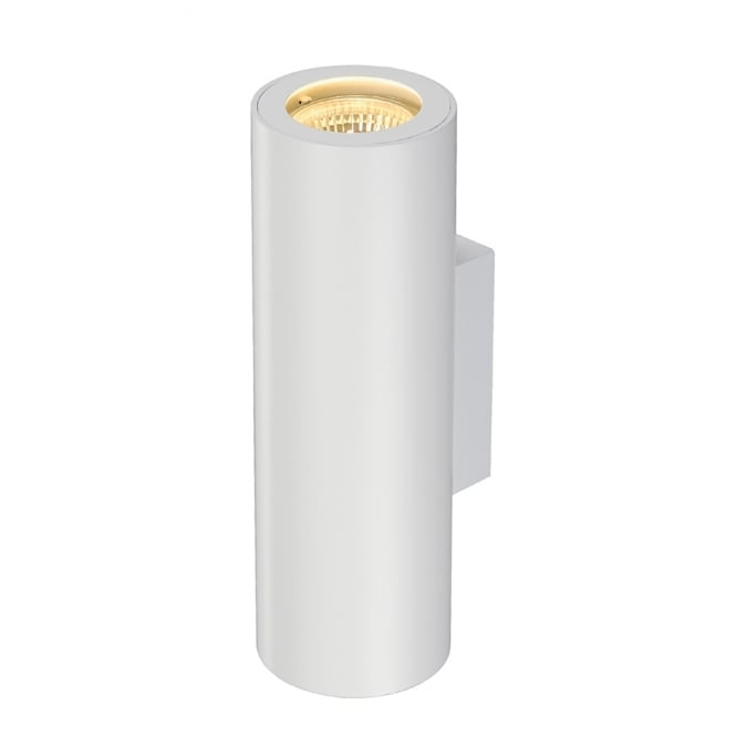 Intalite Big White ENOLA white tube shaped wall spotlight