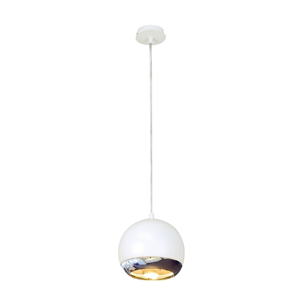 Small White Light Eye Ceiling Pendant For High Ceilings