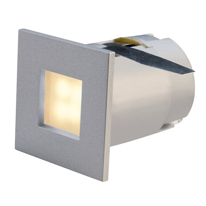 Intalite Big White MINI FRAME LED small recessed LED wall or ceiling light