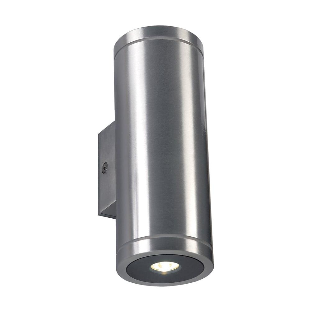 Interior or exterior warm white led aluminium tube light rox warm white led interior or exterior wall light aloadofball Choice Image