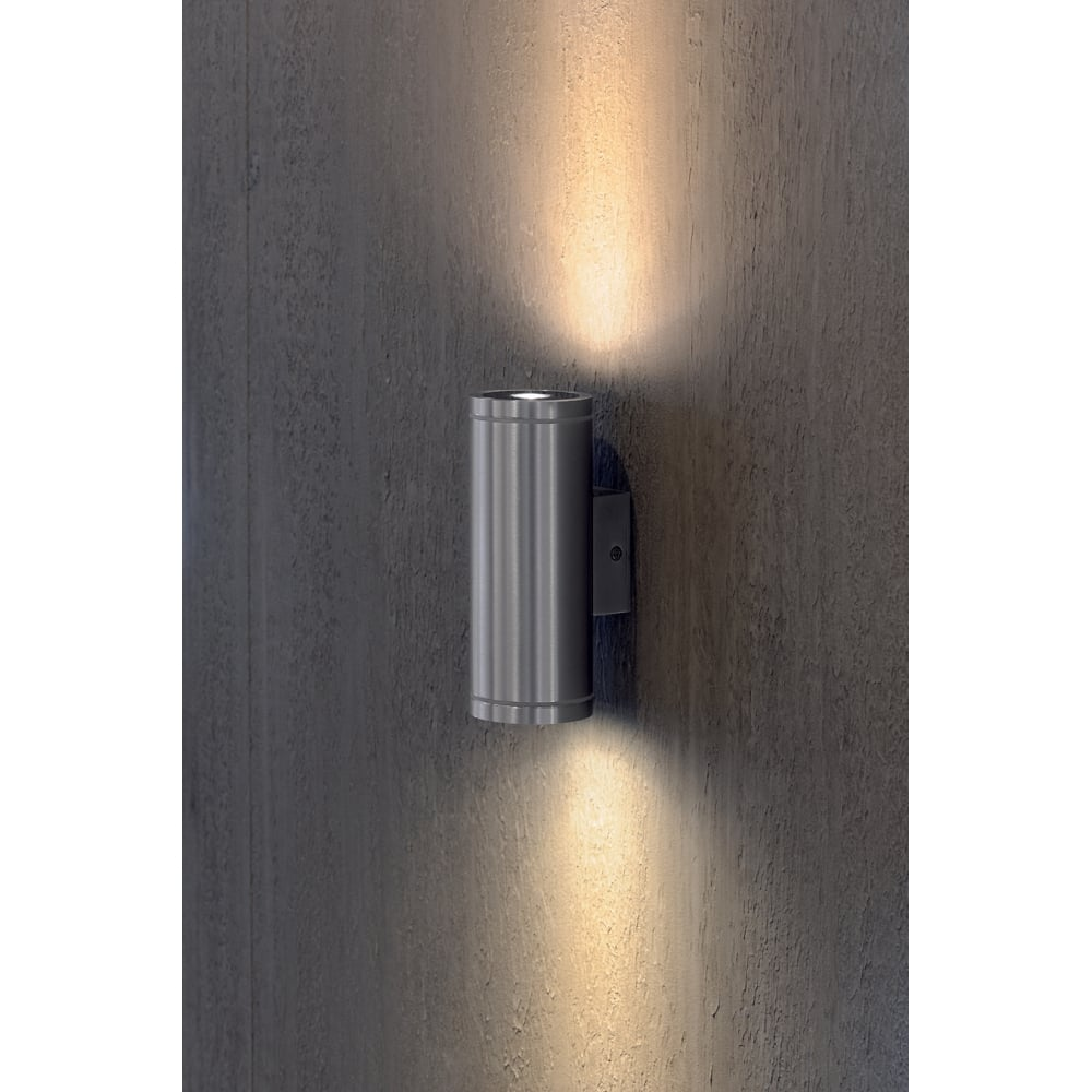 Interior or exterior warm white led aluminium tube light rox warm white led interior or exterior wall light aloadofball Gallery