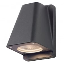 WALLYX anthracite outdoor garden wall light