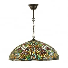 decorative Tiffany glass ceiling pendant