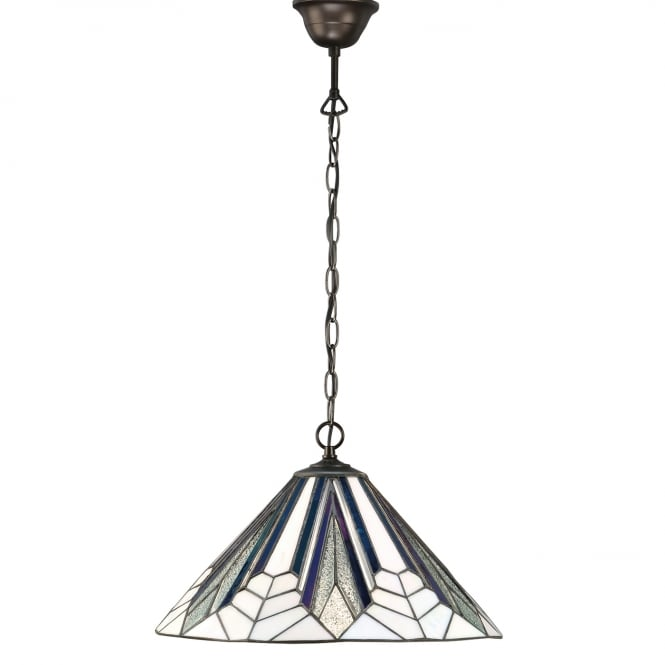 Interiors 1900 ASTORIA Tiffany ceiling pendant