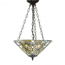 DAUPHINE Art Nouveau Inverted Ceiling Pendant