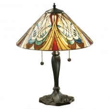 HECTOR Art Nouveau style Tiffany table lamp