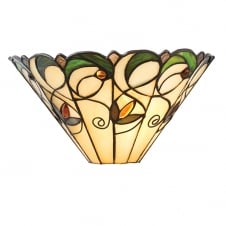 JAMELIA Tiffany wall washer wall light in Art Nouveau style