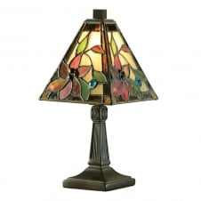LELANI small mini Tiffany glass table lamp