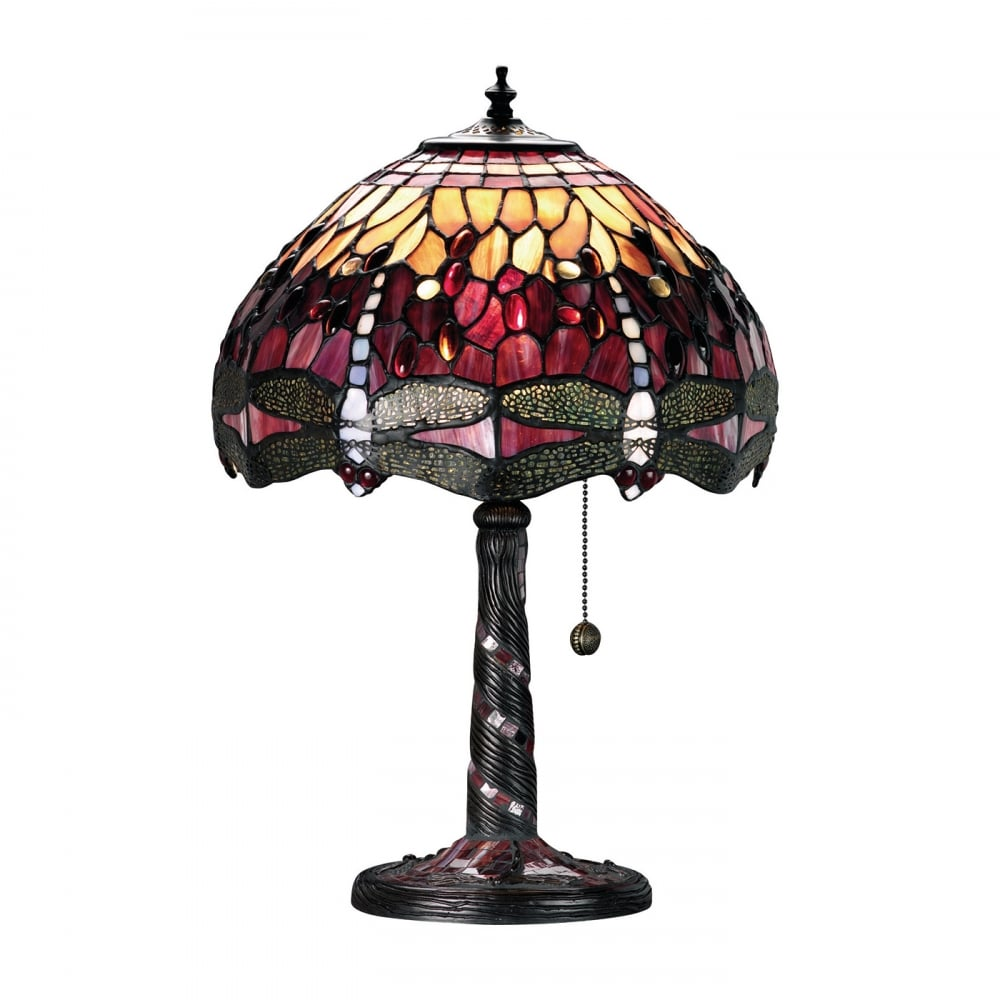 tiffany dragonfly table lamp louis tiffany collection interiors 1900. Black Bedroom Furniture Sets. Home Design Ideas