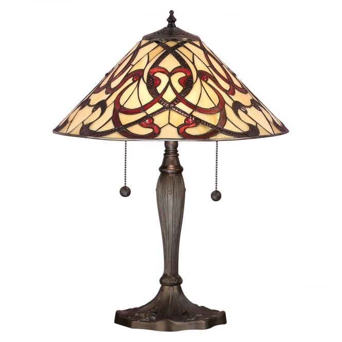 RUBAN Art Nouveau Table Lamp