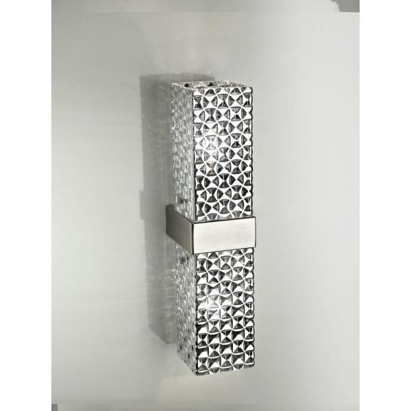 Double Column Style Italian Glass Double Wall Light