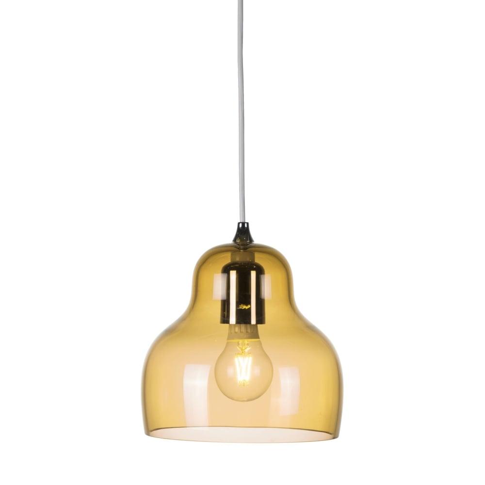 yellow pendant lighting. Yellow Blown Glass Ceiling Pendant Light Lighting