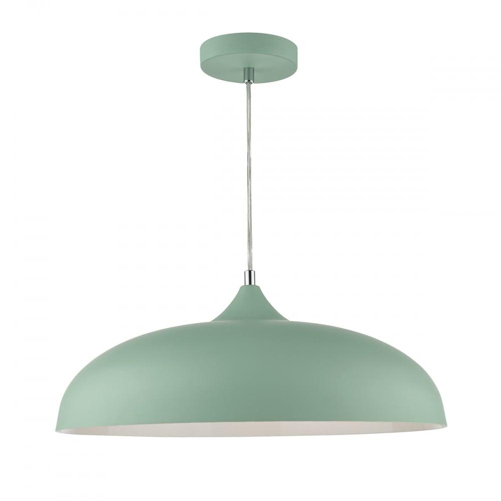 Retro mint green ceiling pendant light great for kitchen islands retro mint blue ceiling pendant light aloadofball Choice Image