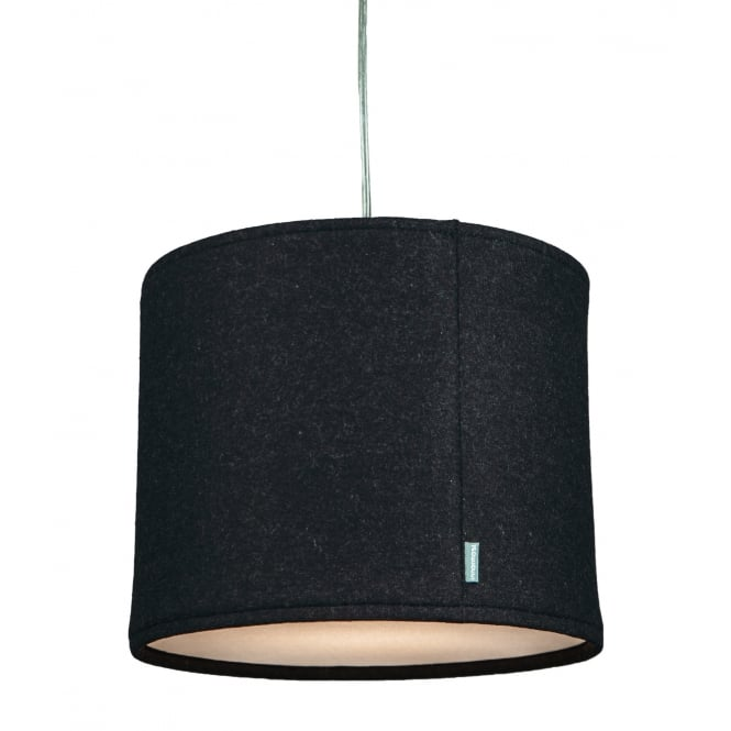 KOBE CHARCOAL wool shade with cotton diffuser (medium)