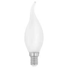 flame tipped LED candle bulb