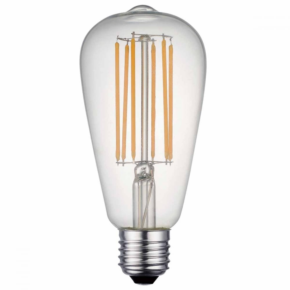 LED Filament Style Squirrel Cage Bulb 7 Watt Dimmable