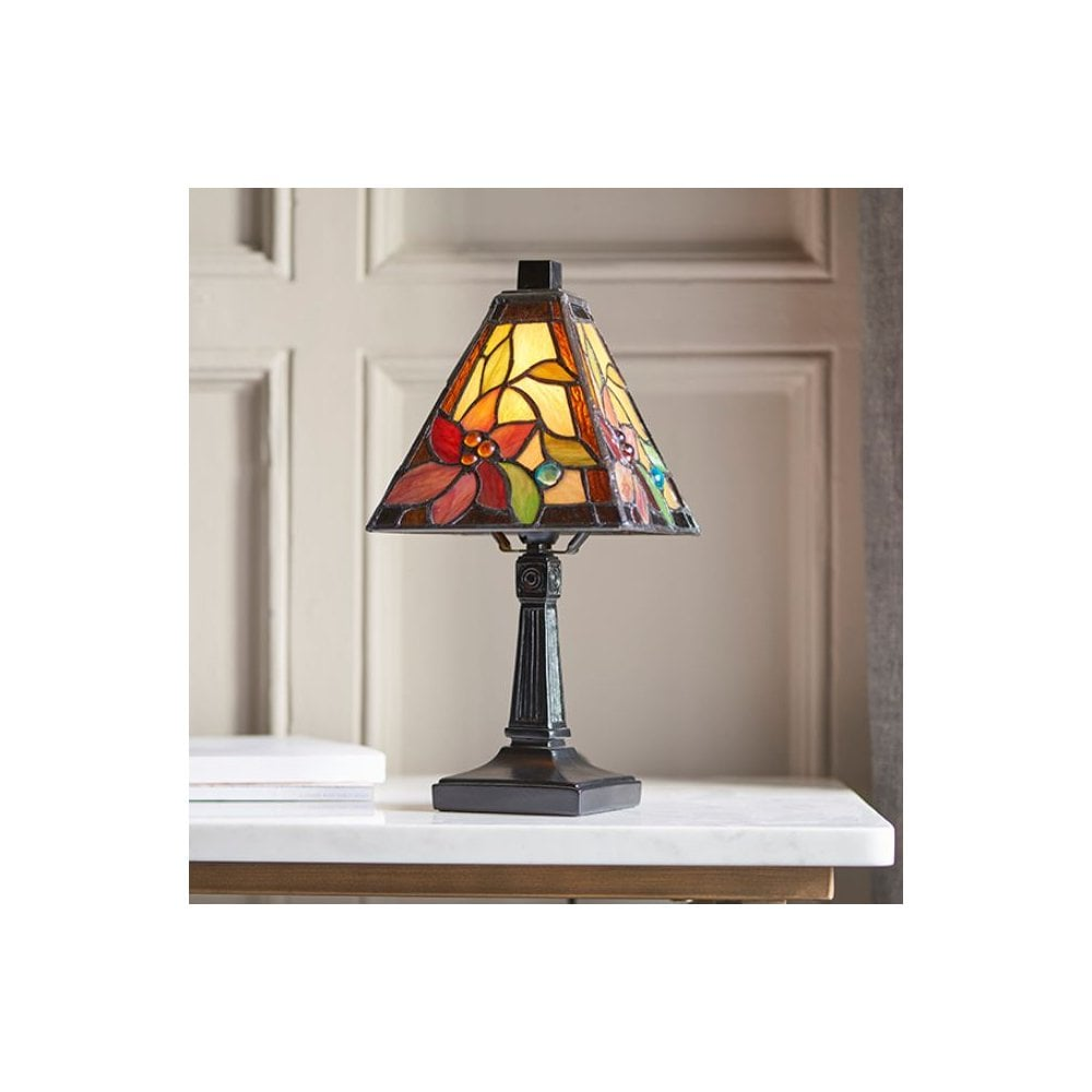 Swag Lamp Stained Glass Crystal The Dark Crystal Shard Stained Glass Lamp