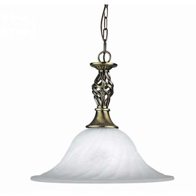 Lighting Catalogue CAMEROON antique brass ceiling pendant light