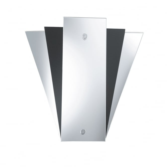 DECO style mirrored wall washer light