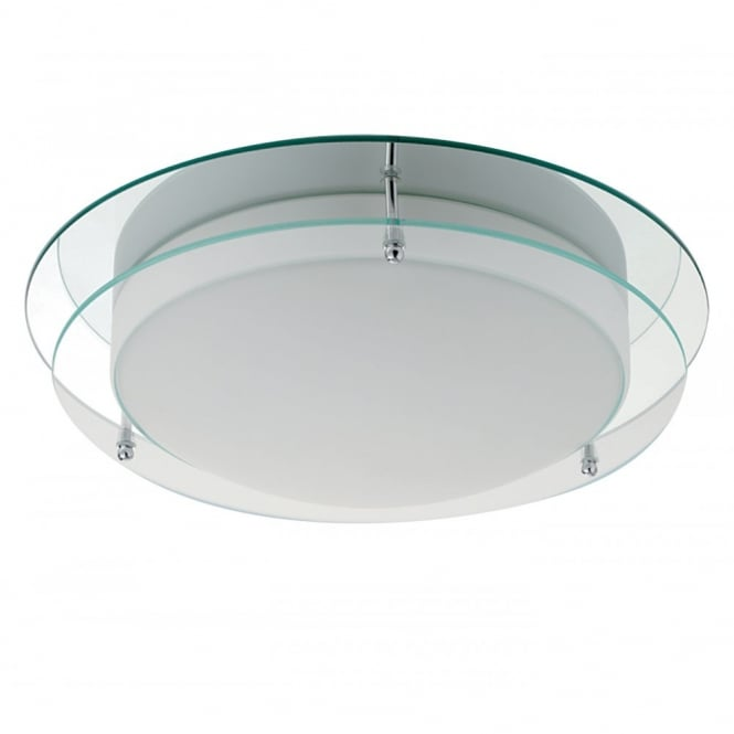 Lighting Catalogue ENERGY SAVING clear and opal glass bathroom ceiling light
