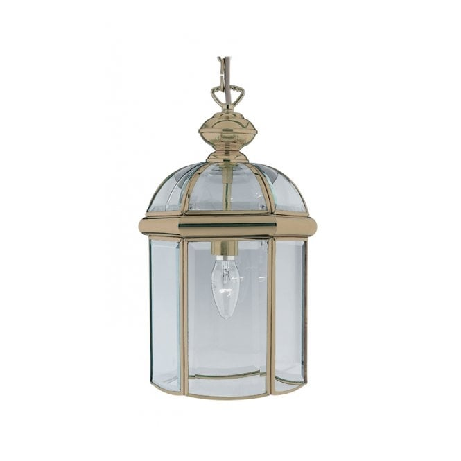 Lighting Catalogue HALL LANTERN traditional small antique brass pendant